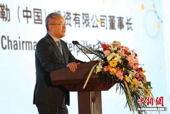 卡特彼勒全球副总裁陈其华讲述卡特彼勒在中国的成长故事。