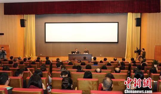 南京大学十九大精神宣讲会现场。 王红兵 摄