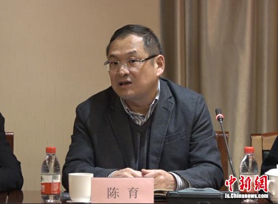 中国纸业网董事长陈育发言