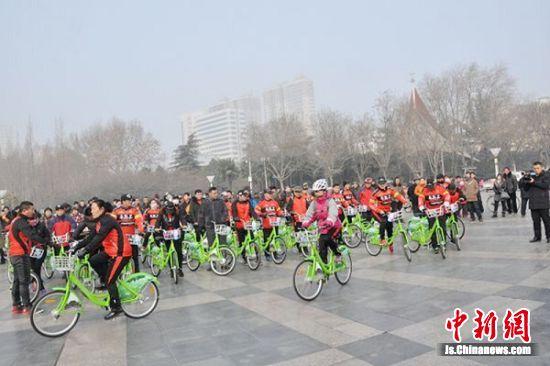 沛县公共自行车环城骑行
