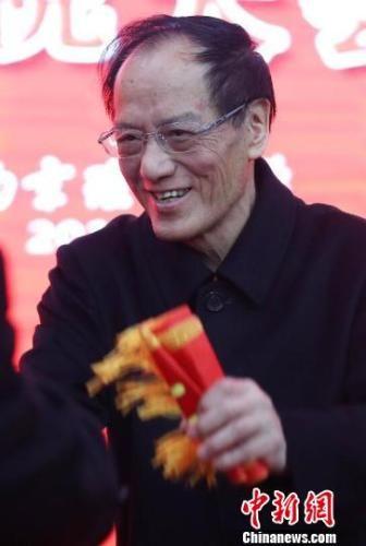 图为中国工程院院士、南京理工大学教授王泽山。