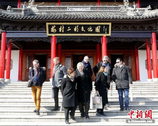 法国国际文化中心(ACCR)协会访华代表团赴梅村二胡文化园考察4