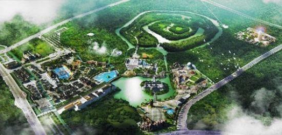 """空中俯瞰淹城,""""三城三河""""形制举世无双"""