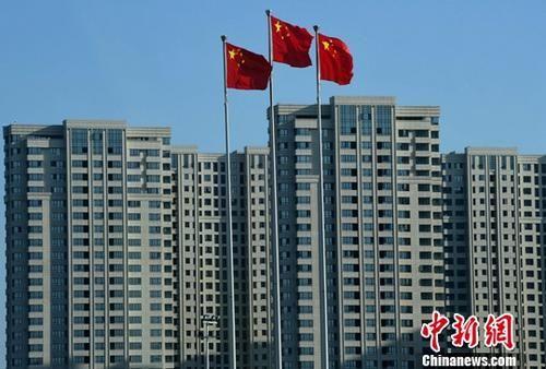图为一处刚建设完工的房地产楼盘。(资料图片) 中新社记者 张斌 摄