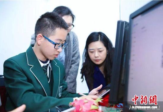 学生在检测模型
