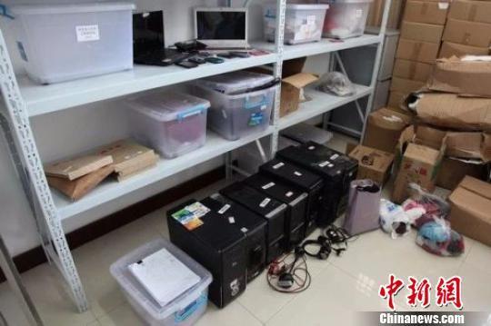 图为警方查获的作案工具。江苏警方 供图