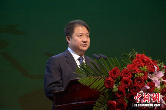 徐州市人民政府副市长徐东海到会致辞。