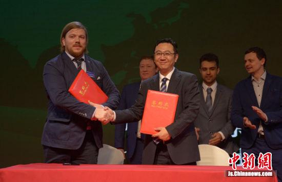 EGLA 与俄罗斯中国总商会法律行业分会签约仪式。