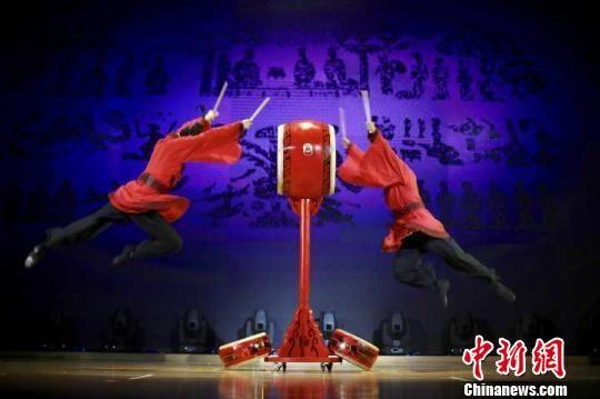 汉舞在南博上演。 泱波 摄