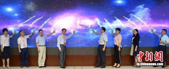 中华医学会心身医学分会全国巡讲江苏站启动仪式。 张岩 摄