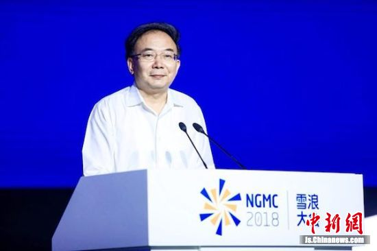 江苏省委常委、无锡市委书记李小敏讲话。