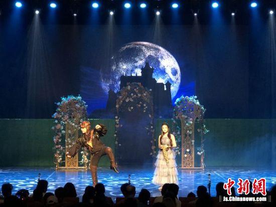 图为歌剧《魔笛》演出现场。