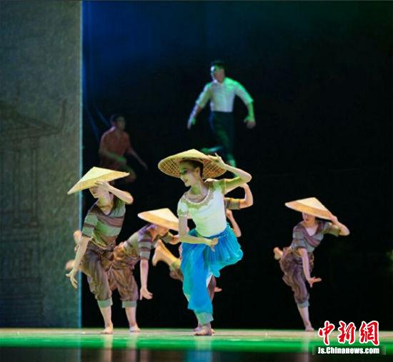 以西港特区创业为原型而创作的舞剧。