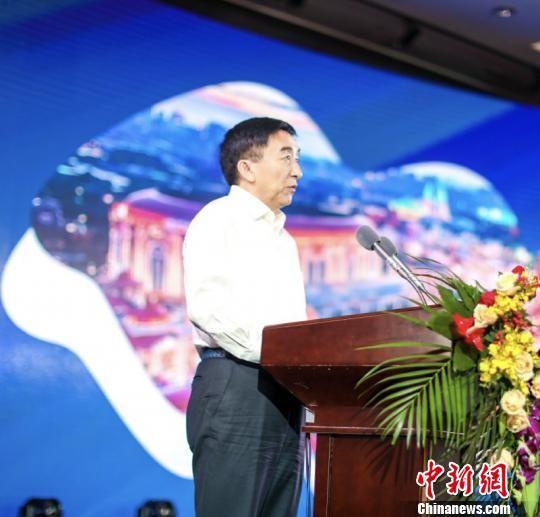 """原国家旅游局副局长吴文学认为业界尚未对""""文旅元年""""的到来做好准备。 钟升 摄"""