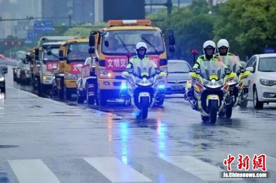 交通违法整治。