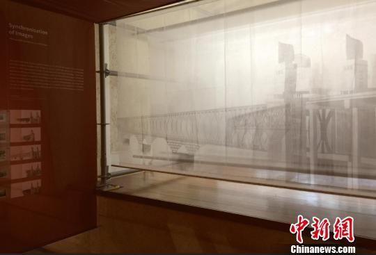 1969年拍摄的一组南京长江大桥幻灯片。被访者供图