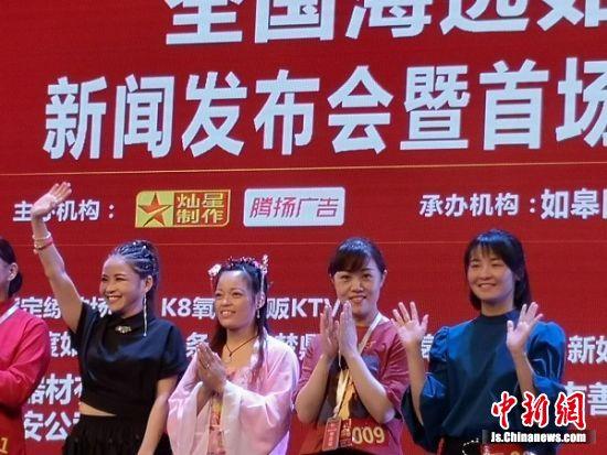 2019年《中国好声音》如皋赛区首场海选选手。 陆建国 摄
