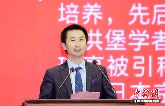 校友代表、澳门大学萧建波教授致辞
