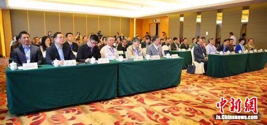 孔尚任暨盐都历史文化学术研讨会现场。