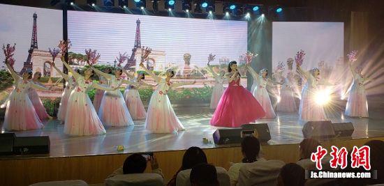 姜堰第三届网民节颁奖盛典文艺表演。