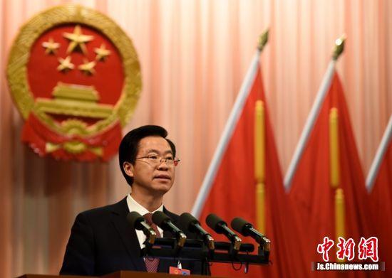 徐州市市长庄兆林作政府工作报告