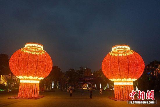 2019淹城新春灯会换