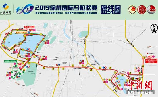 赛道安排非常精致,让跑友奔跑在湖光山色之中,享受徐州山水文化。