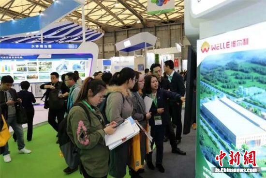 亚洲最大环保展在沪举行 常州维尔利亮相2019环博会