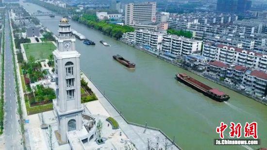 千年运河见证着常州经开区的发展