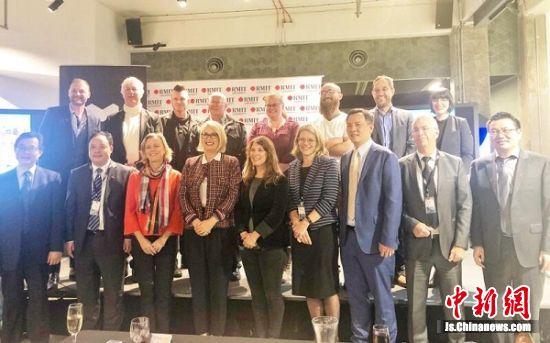 南京浦口区出访团拜访澳大利亚皇家墨尔本理工大学,并举办创业项目路演活动。