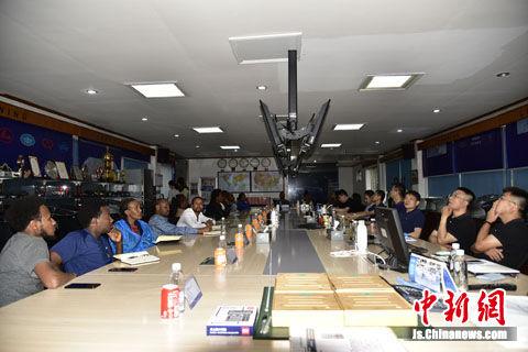 埃塞俄比亚工业园第三批管理干部在江苏昆山等地参观考察。