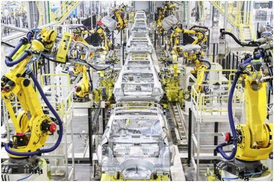 恒大天津生产基地焊装车间