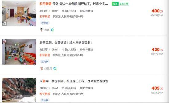 深圳公寓坍塌房价反涨:中介迅速到场收购,拆迁概念加速_扬州旅游攻略