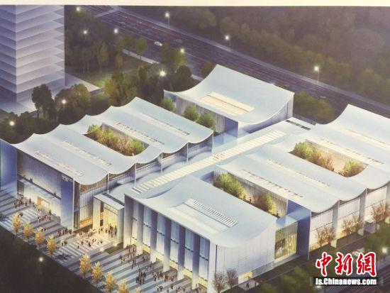 南京国家农创园展示中心效果图