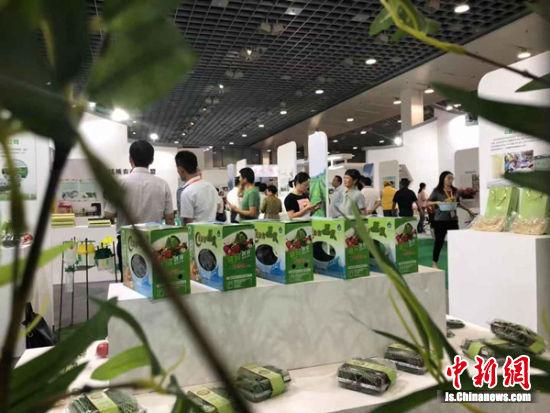 众多农产品主打绿色、生态。