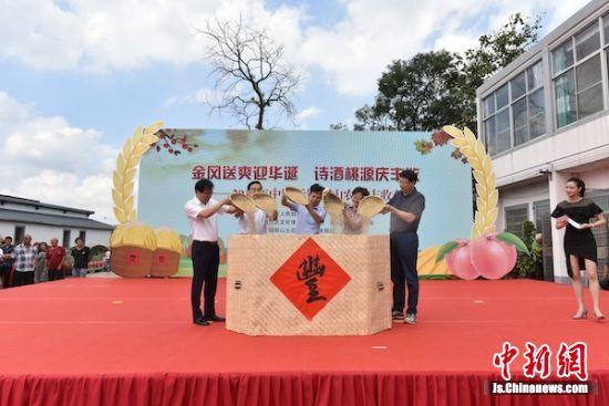 """""""桃乡""""无锡阳山""""诗酒桃源""""庆丰收"""