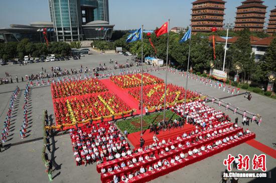 中国农民丰收节江苏主场活动在江阴华西村举行
