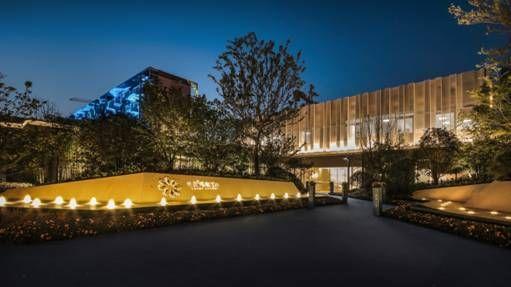 邂逅极光之夜 世茂璀璨江山展示中心盛大开放