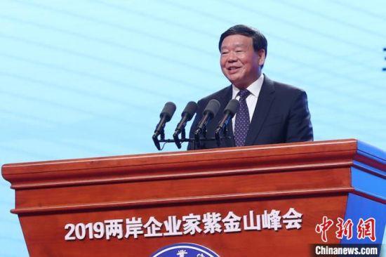 江苏省委书记娄勤俭致辞。 泱波 摄