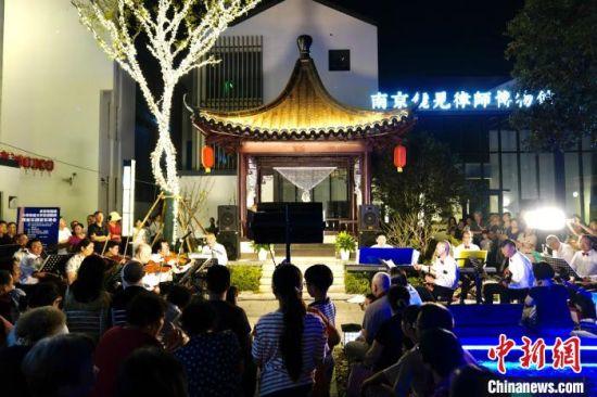 夜间文化表演。南京旅游集团供图