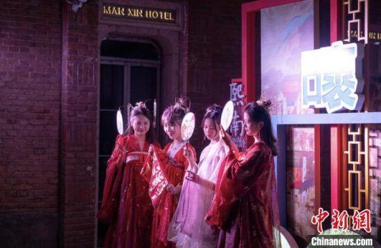汉服巡游。南京旅游集团供图