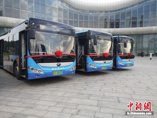 图为宜川文旅宣传公交专线。