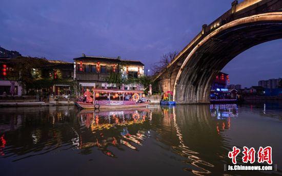 无锡市首届运河文化艺术节活动现场。