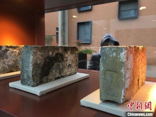"""南京为""""砖头""""专门设立了一座小型博物馆,日前向公众免费开放。 申冉 摄"""