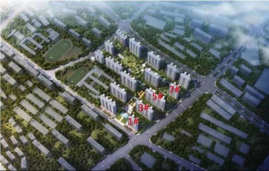 城北两大项目本月首开 共698套房源入市
