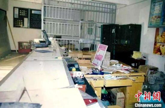 20年前命案现场有明显翻动痕迹。 徐州警方供图