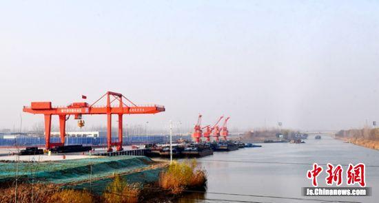 沙集码头。 睢宁县交通运输局供图