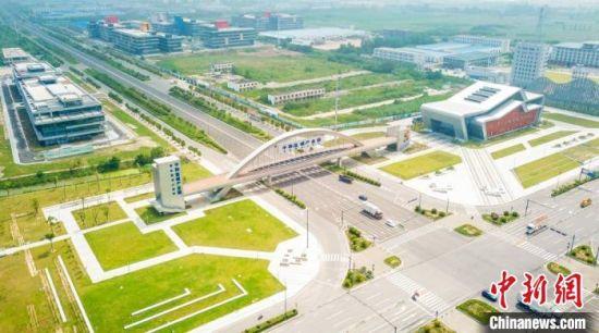 图为核心区位于盐城经济技术开发区的中韩(盐城)产业园。盐城经济技术开发区 供图