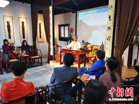 国家级非物质文化遗产金陵琴派代表性传承人 桂世民