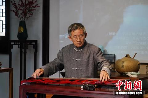 国家级非物质文化遗产梅庵琴派代表性传承人刘善教